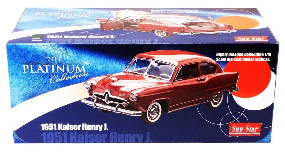 1951 Kaiser Henry J. - Escala 1:18 - Sun Star