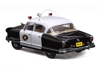 1952 Nash Ambassador Airflyte Police - 1:18 - Sun Star