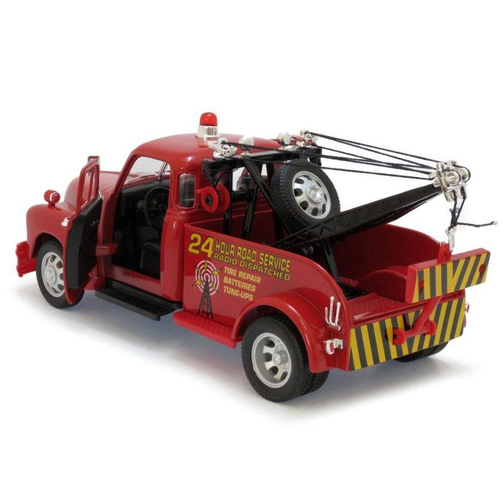 1953 Chevrolet 3100 Tow Truck - Escala 1:24 - Welly