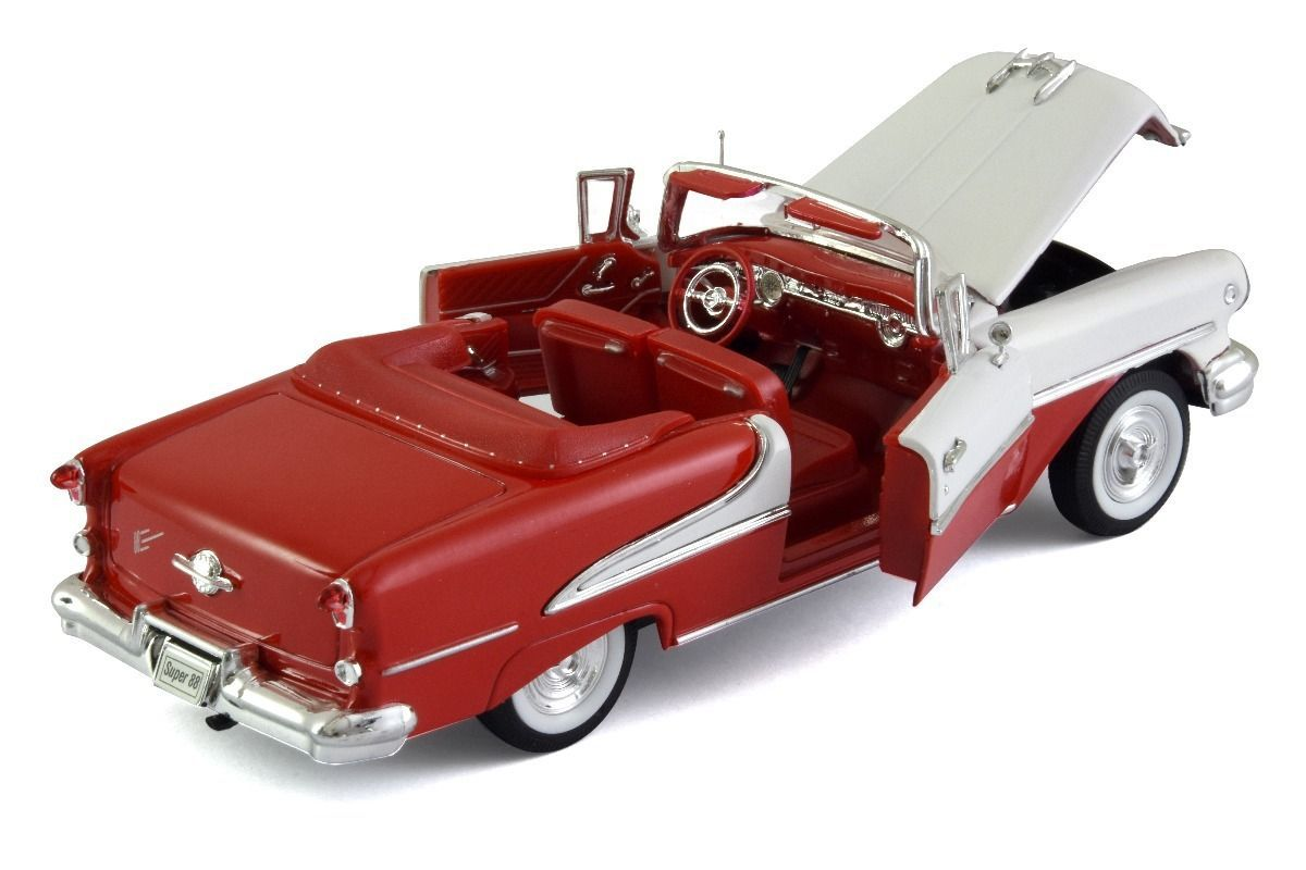 1955 Oldsmobile Super 88 - Escala 1:24 - Welly