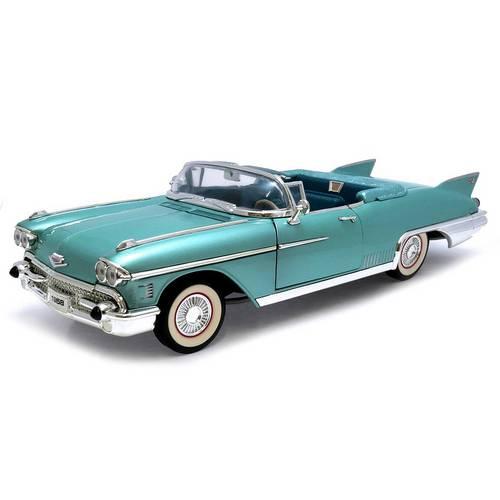 1958 Cadillac Eldorado Biarritz - Escala 1:18 - Yat Ming
