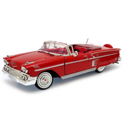 1958 Chevrolet Impala - Escala 1:24 - Motormax