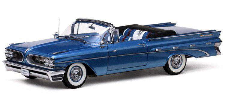 1959 Pontiac Bonneville Open Convertible - Escala 1:18 - Sun Star