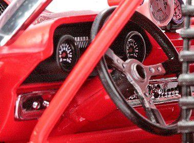 1963 Ford Galaxie 500 Texas Thunder - Escala 1:18 - Sun Star