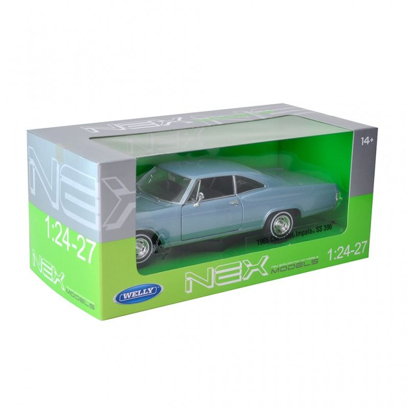 1965 Chevrolet Impala SS 396 - Escala 1:24-27 - Welly