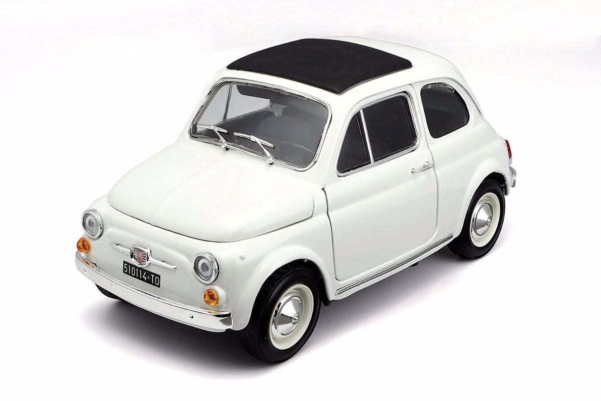 1965 Fiat 500F - Escala 1:16 - Bburago