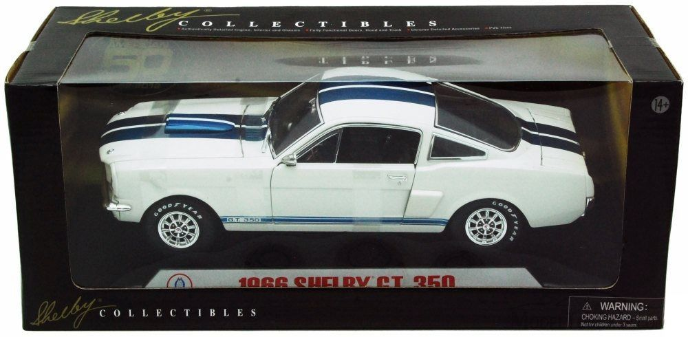 1966 Shelby GT 350 - Escala 1:18 - Shelby Collectibles