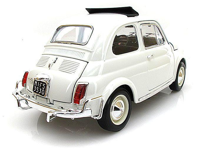 1968 Fiat 500L - Escala 1:16 - Bburago