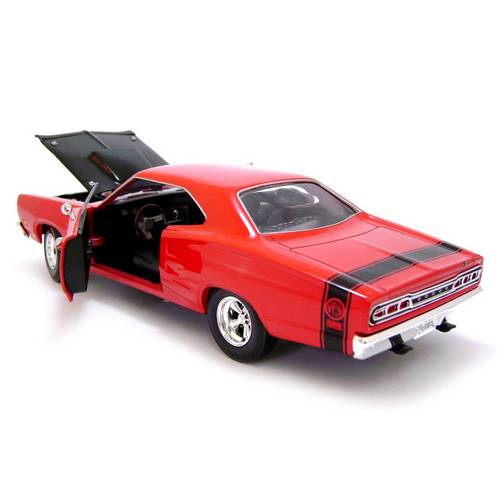 1969 Dodge Coronet Super Bee - Escala 1:24 - Motormax
