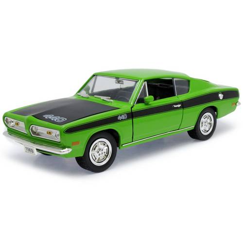 1969 Plymouth Barracuda - Escala 1:18 - Yat Ming