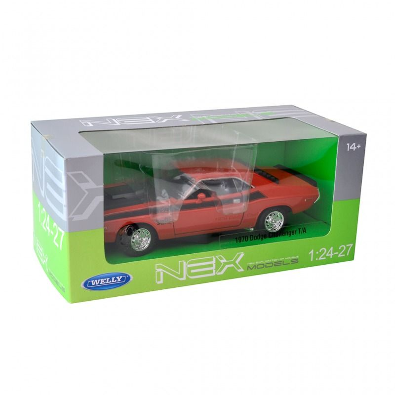 1970 Dodge Challenger T/A - Escala 1:24 - Welly