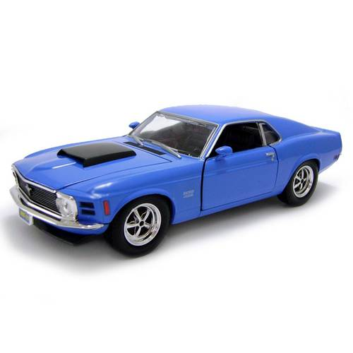1970 Ford Mustang Boss 429 - Escala 1:24 - Motormax