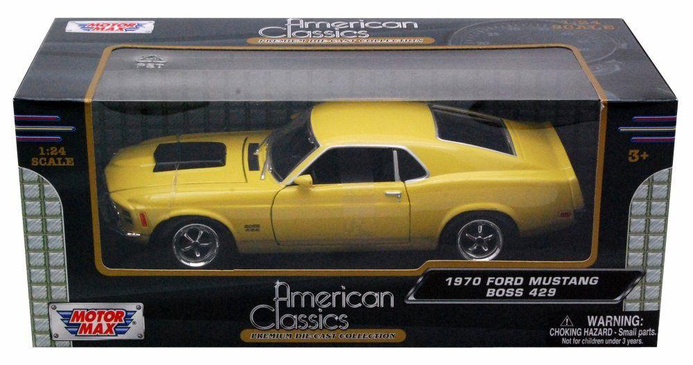 1970 Ford Mustang Boss 429 - Escala 1:24 - Motormax