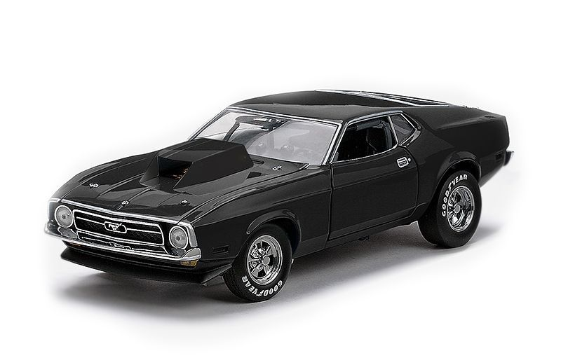1971 Ford Mustang Pro Stock Drag Car - Escala 1:18 - Sun Star