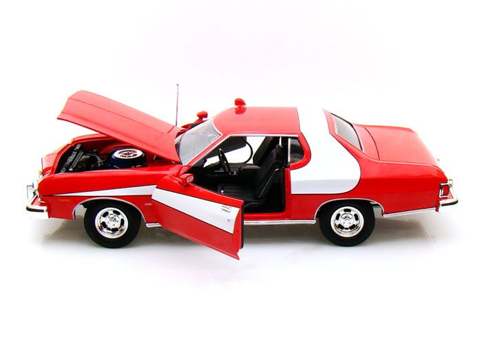 1974 Ford Gran Torino - Starsky & Hutch - Escala 1:18 - Greenlight