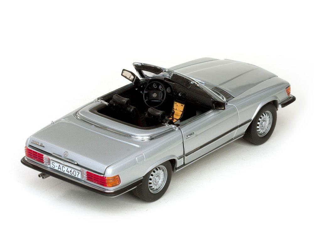 1977 Mercedes-Benz 350 SL Cabriolet - Escala 1:18 - Sun Star