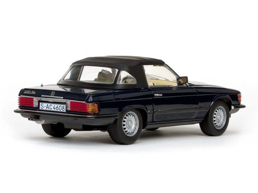 1977 Mercedes-Benz 350 SL Closed Convertible - Escala 1:18 - Sun Star