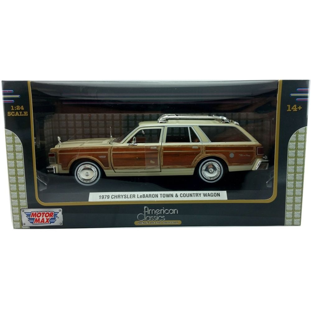 1979 Chrysler LeBaron Town & Country Wagon - 1:24 - Motormax