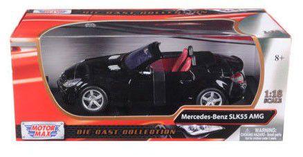 2002 Mercedes-Benz SLK 55 AMG - Escala 1:18 - Motormax