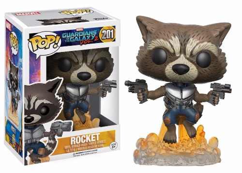 Rocket Raccoon #201 - Guardian of The Galaxy Vol. 2 ( Guardiões da Galáxia Vol. 2 ) - Funko Pop! Marvel