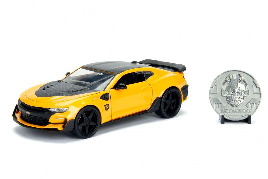 2016 Chevrolet Camaro Bumblebee - Transformers 5 - Escala 1:24 - Jada Toys Escala