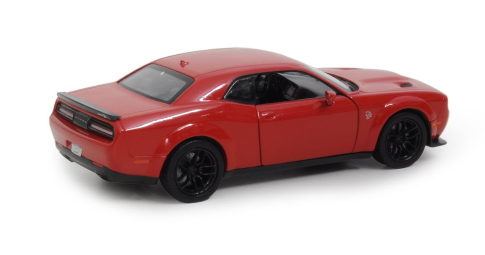 2018 Dodge Challenger SRT Hellcat Widebody - Escala 1:24 - Motormax