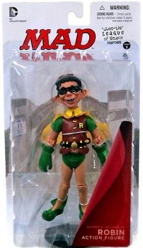 Robin - Just-Us League of Stupid Heroes Series 3 - MAD - DC Collectibles