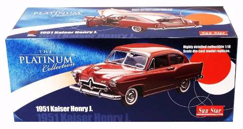 1951 Kaiser Henry J - Escala 1:18 - Sun Star