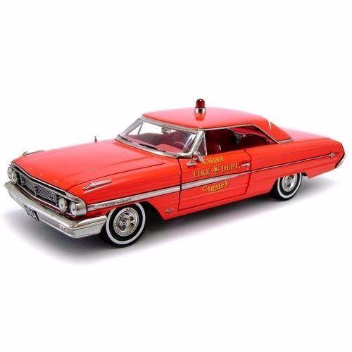 1964 Ford Galaxie 500 Fore Chief Department - Escala 1:18 - Sun Star