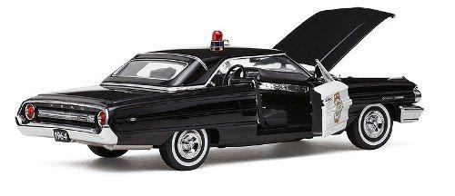 1964 Ford Galaxie 500 Minneapolis Police Car - Escala 1:18 Sun Star