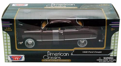 1949 Ford Coupe - Escala 1:24 - Motormax
