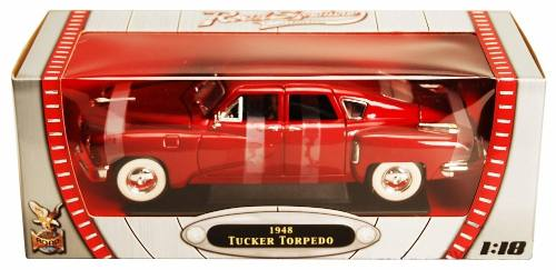 1948 Tucker Torpedo - Escala 1:18 - Yat Ming