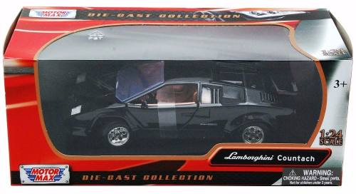 Lamborghini Countach - Escala 1:24 - Motormax