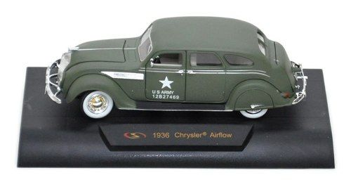 1936 Chrysler Airflow - Escala 1:32 - Siganture Models