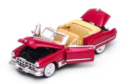 1949 Cadillac Series 62 Convertible Coupe - Escala 1:32 - Signature Models