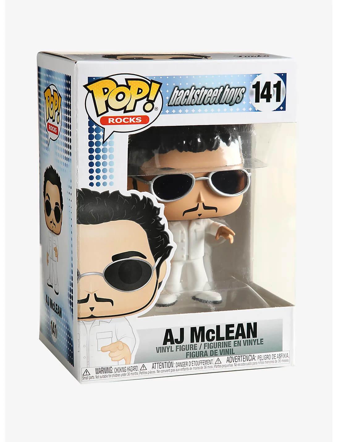 AJ McLean #141 - Backstreet Boys - Funko Pop! Rocks