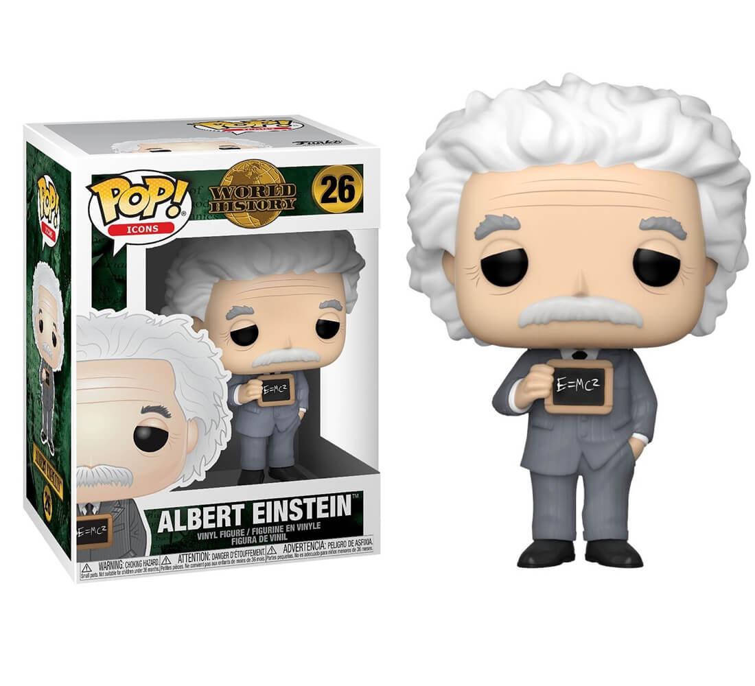 Albert Einstein #26 - World History - Funko Pop! Icons