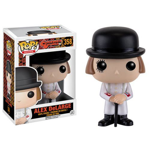 Alex DeLarge - A Clockwork Orange #358 ( Laranja Mecânica ) - Funko Pop! Movies