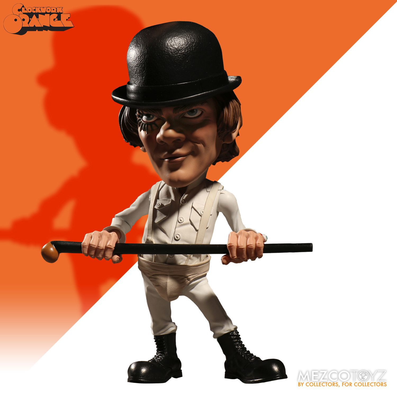 Alex DeLarge - A Clockwork Orange ( Laranja Mecânica ) - Stylized Figure - Mezco Toyz