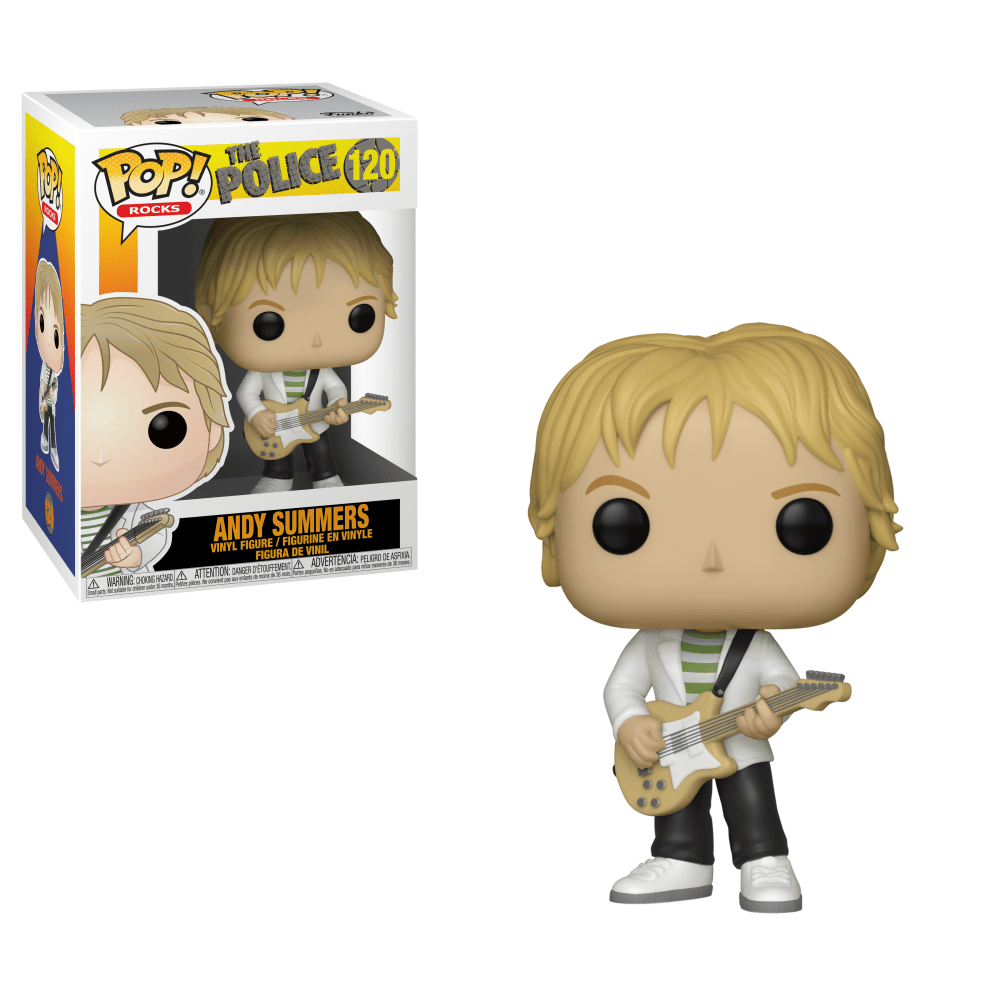 Andy Summers #120 - The Police - Funko Pop! Rocks