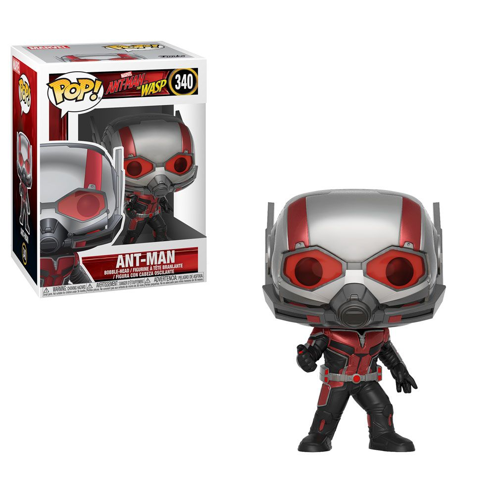 Ant-Man #340 (Homem-Formiga) - Ant-Man and The Wasp (Homem-Formiga e Vespa) - Funko Pop! Marvel