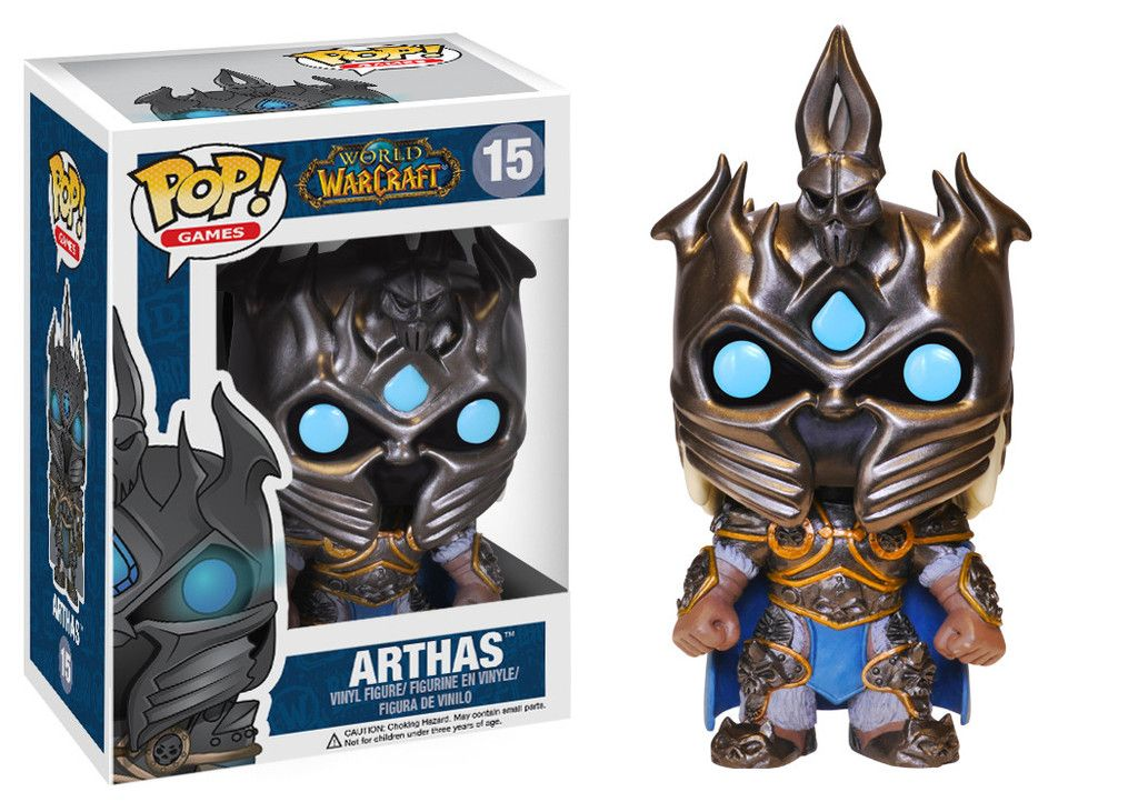 Arthas #15 - World of Warcraft - Funko Pop! Games