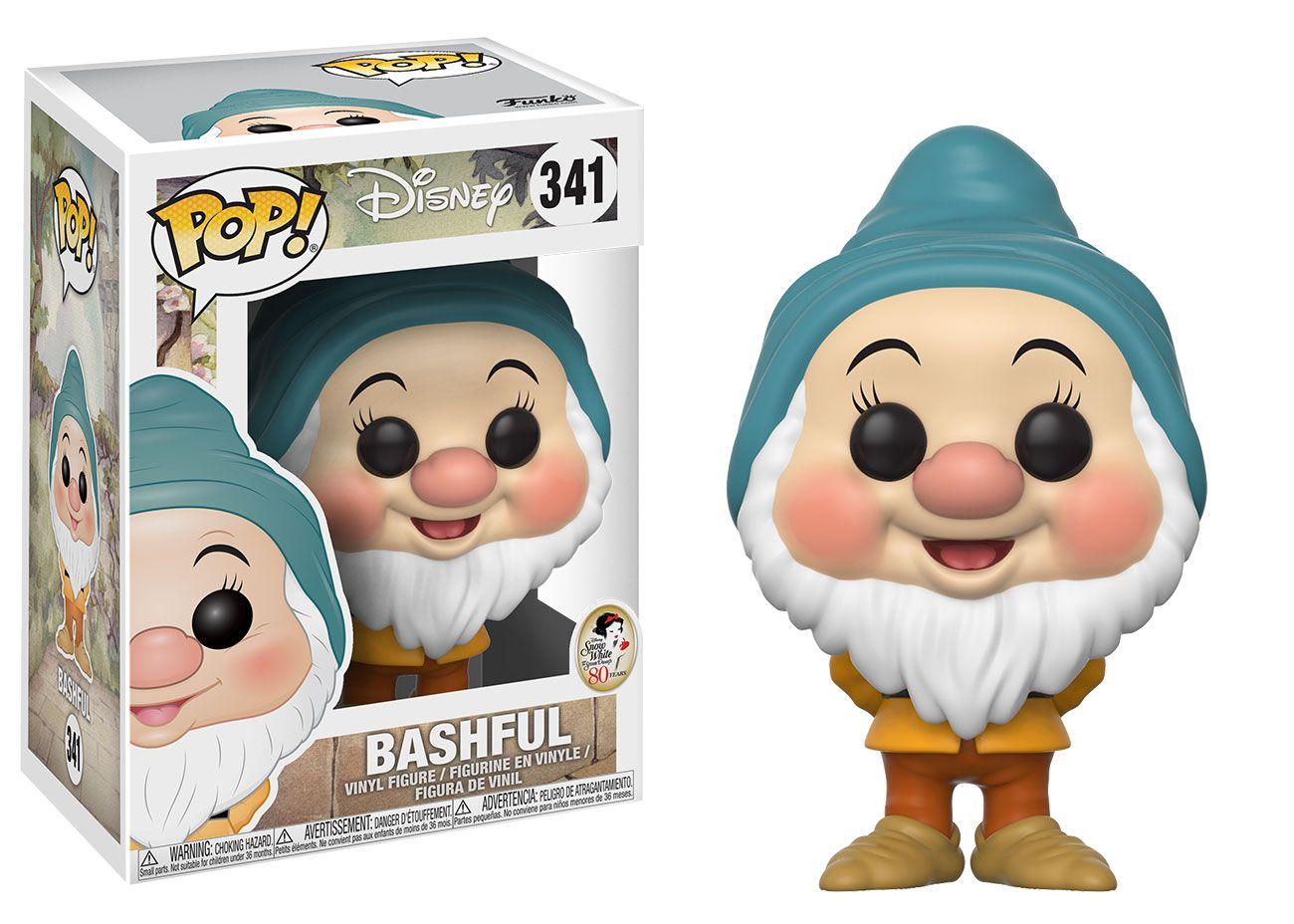 Bashful #341 ( Dengoso ) - Snow White ( Branca de Neve ) - Funko Pop! Disney