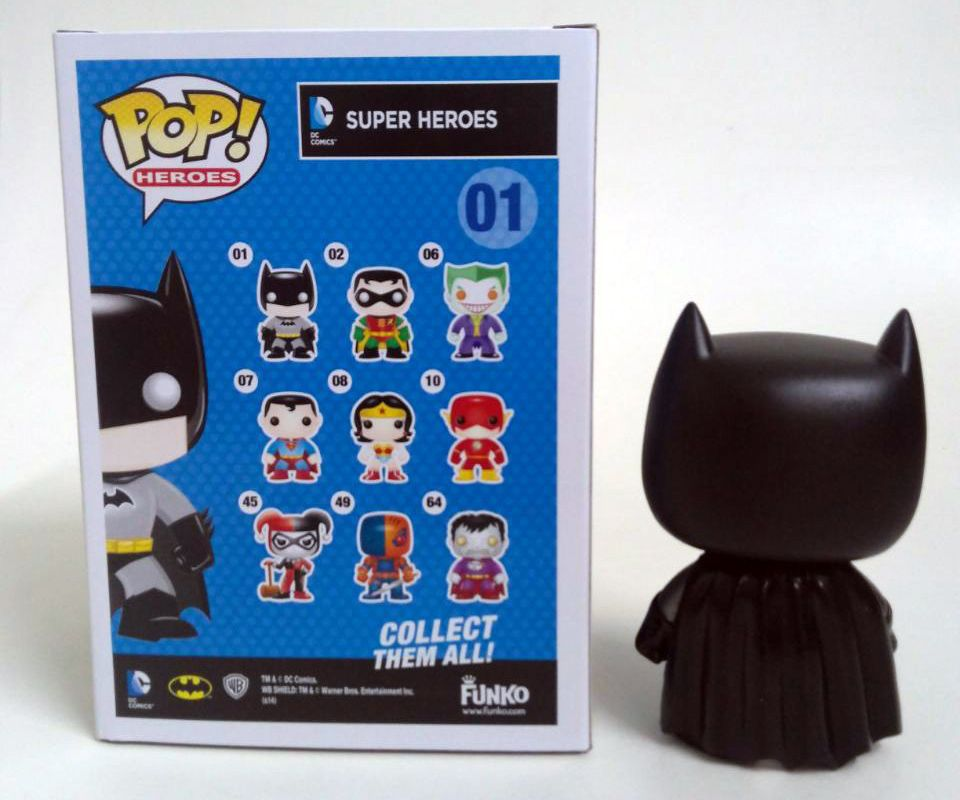 Batman #01 - DC Universe - Funko Pop! Heroes Limited Edition