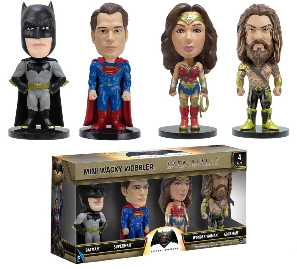 Batman VS Superman - Funko Mini Wacky Wobbler