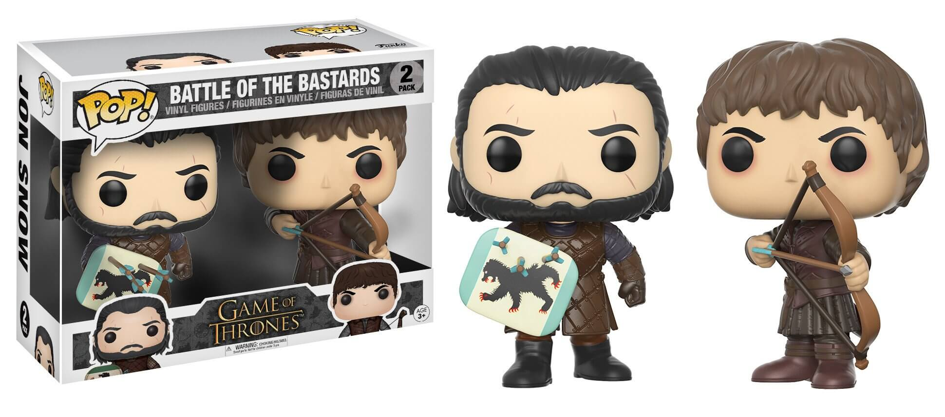 Battle of Bastards ( Batalha dos Bastardos ) - Game of Thrones - Funko Pop!