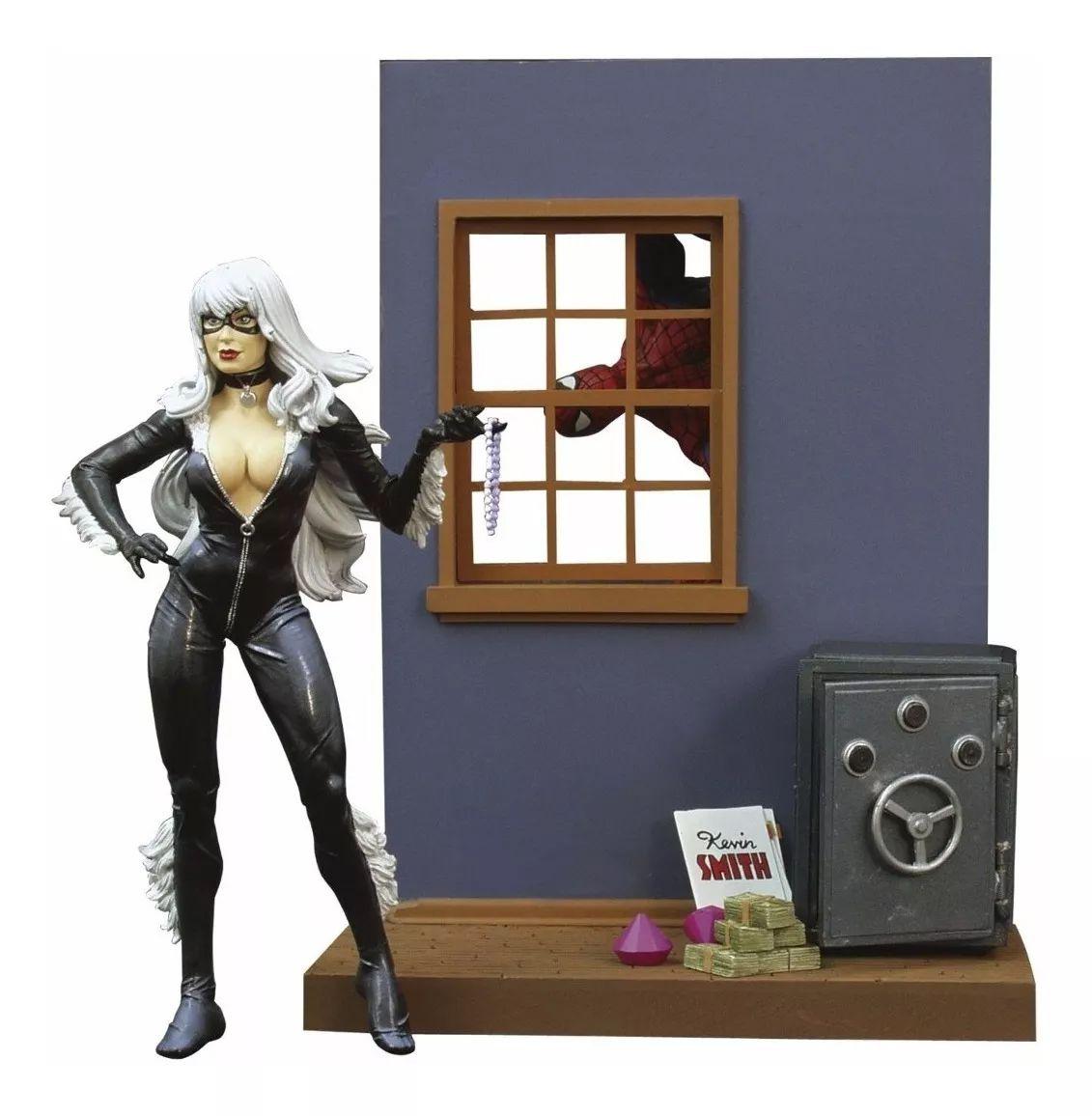 Black Cat ( Gata Negra ) - Marvel Select - Diamond Select Toys