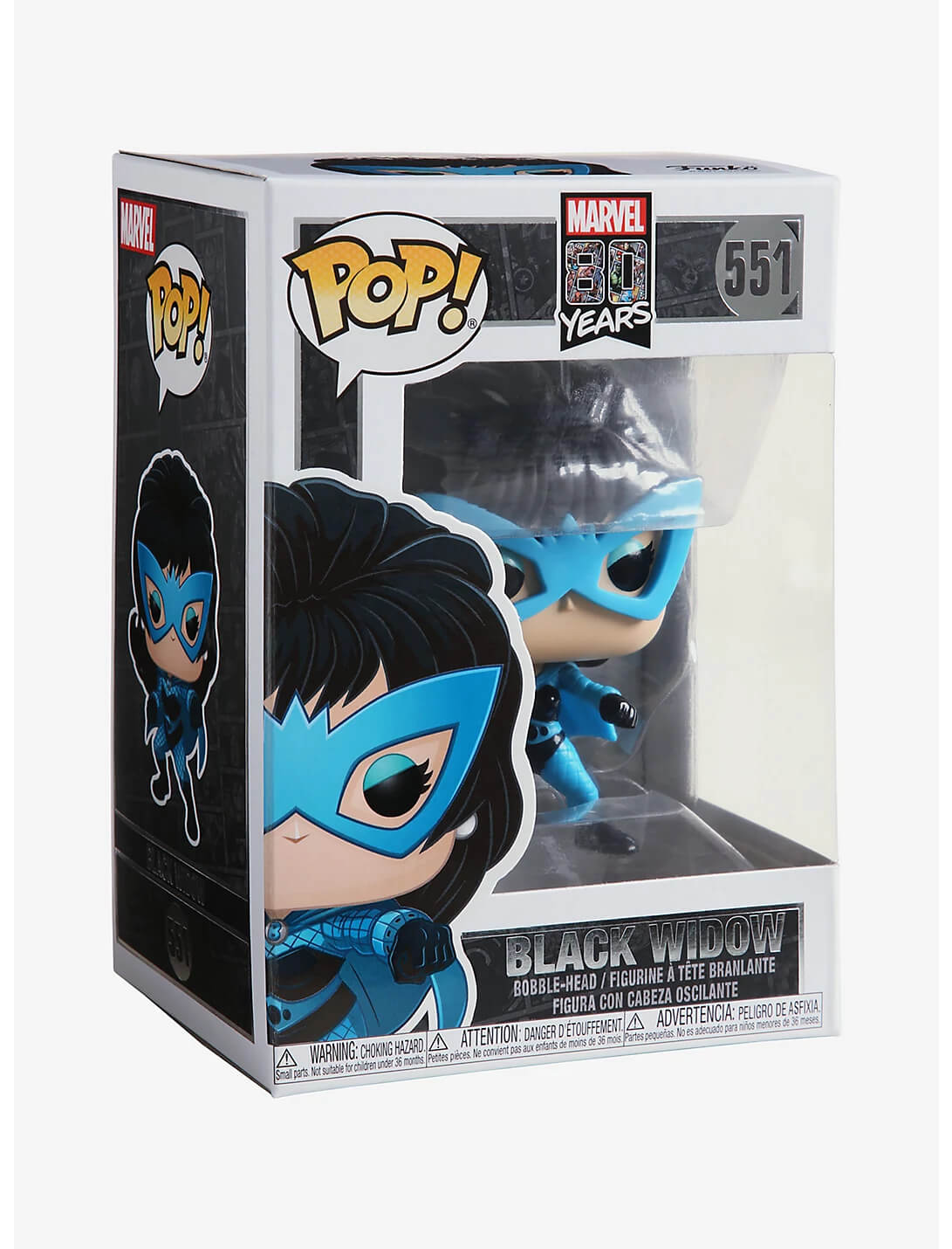Black Widow #551 (Viúva Negra) - 80 Years - Funko Pop! Marvel