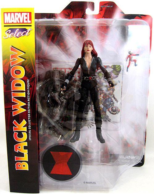 Black Widow ( Viúva Negra ) - Marvel Select - Diamond Select Toys