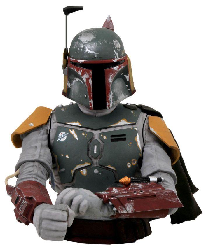 Boba Fett Bust Bank - Star Wars - Diamond Select Toys